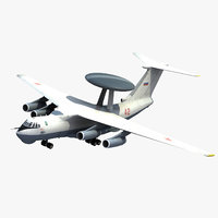 a-50 mainstay awacs 3d model