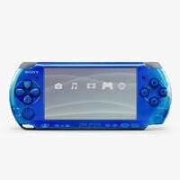 3d model sony psp-3008 psp