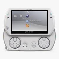 sony psp n1008 3d model