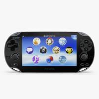 sony playstation vita 3g 3d max