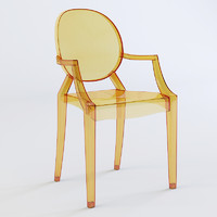 3d chair kartell ghost model