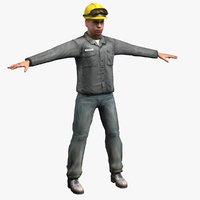 workman figure 3d max