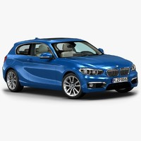 3ds max 2016 bmw 1 series