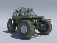lada niva 1922 marsh 3d model