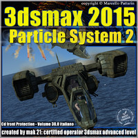 3ds max 2015 Particle System 2 volume 38 cd front