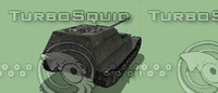 3d 3ds tank ferdinant