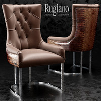 chair itaca rugiano 3d model