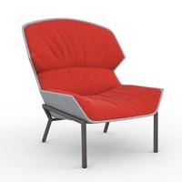 3d clarissa hood moroso armchair