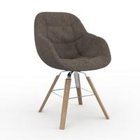 3d eva chair zanotta armchair