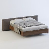 bed boconcept lugano 3d max