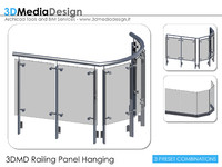 3DMD Railing Panel Hanging V1.0 A16