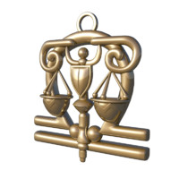 horoscope signs libra 3d max