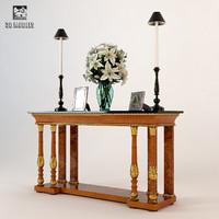 console table francesco molon 3d model
