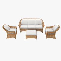 Bridgeport Woven Furniture Set