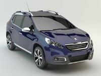 Peugeot_2008 studio