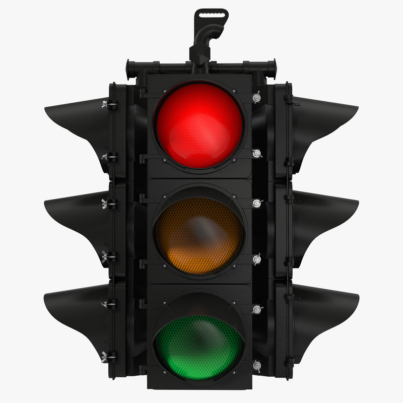 Black Stop Light 3d model 00.jpg