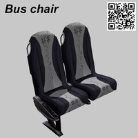 3ds max bus chair