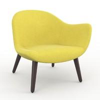 mad poliform armchair 3d model