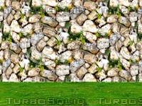 Stone wall 77