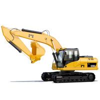 3d excavator industrial