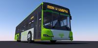 3d man bus hybrid model