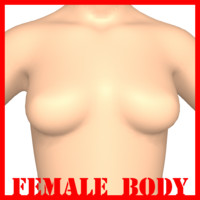 3d female body model