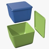 food container 3d 3ds