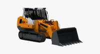crawler loader 3d model