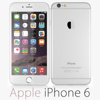3d apple iphone 6