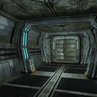max sci fi corridor