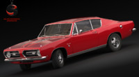 3d plymouth barracuda s 1968