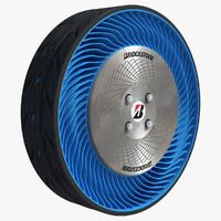 3d model air wheel