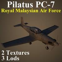 pilatus rmf 3d max