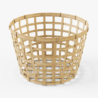 Wicker basket Ikea Gaddis(diameter 32)