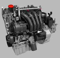 3d engine transmission