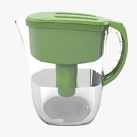 jug water filter 3d model