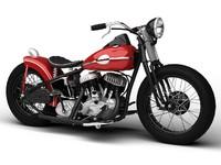 Harley-Davidson WLA Bobber 1945