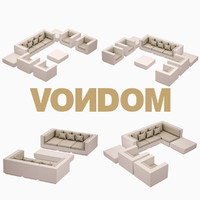 vela set vondom 3d 3ds