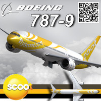 flyscoot jet airport 3d max