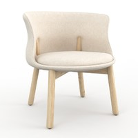 3d max peg cappellini chair