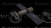 3d satelite model