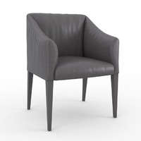 3d model of marilyn durlet chair