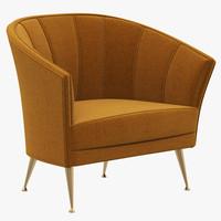 brabbu armchair chair 3d max