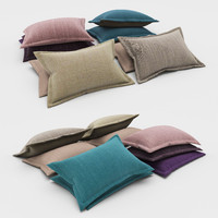 3d model pillows 66