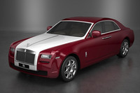 3d rools-royce ghost