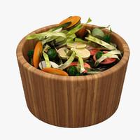 3d model salad