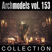 3d model archmodels vol 153