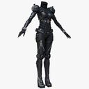 suit of armor 3D models