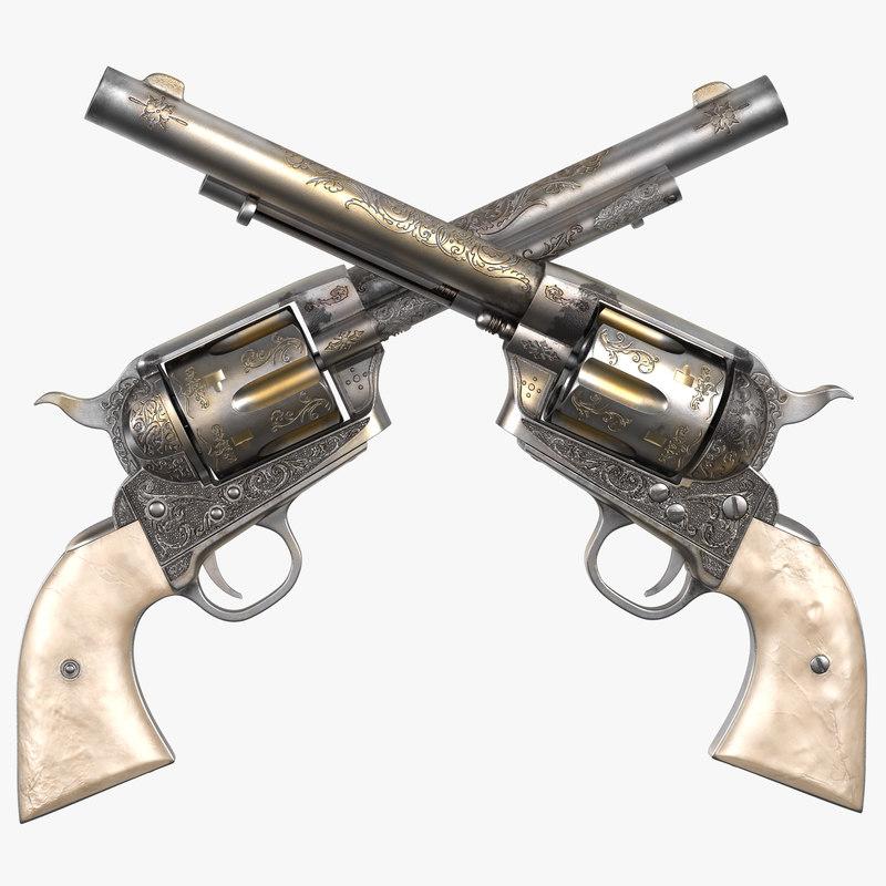Revolver 3d model 00.jpg