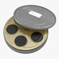 maya video film reel case